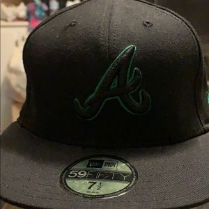 New era Atlanta Braves fitted hat 7 1/2